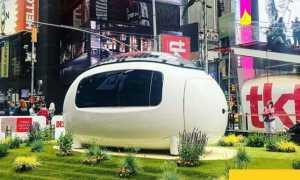 «Ecocapsule» Pod – самоподдерживающаяся капсула на солнечной энергии запускается в США