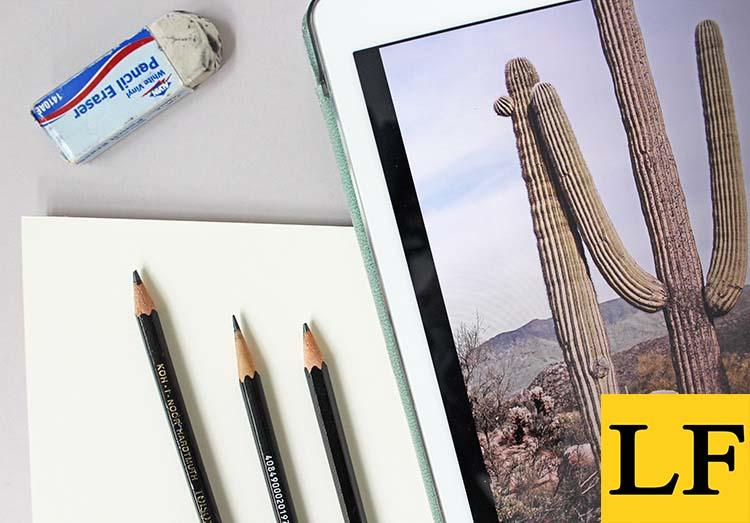 Как нарисовать ландшафтный пейзаж