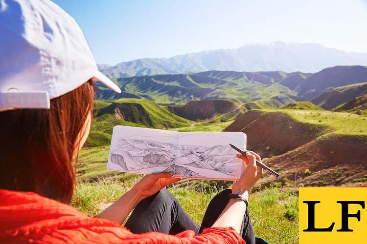 как нарисовать любой пейзаж